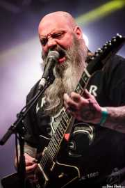 Kirk Windstein, guitarrista y cantante de Crowbar (Santana 27, Bilbao, 2016)