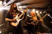 Kirk Windstein -voz y guitarra- y Matt Brunson -guitarra- de Crowbar (Santana 27, Bilbao, 2016)