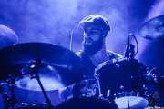 Itamar Rubinger, baterista de Uncle Acid and the Deadbeats (Santana 27, Bilbao, 2016)
