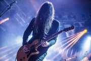 """Kevin """"K.R."""" Starrs, cantante, guitarrista de Uncle Acid and the Deadbeats (Santana 27, Bilbao, 2016)"""