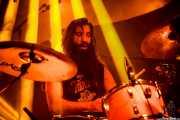 Justin Sherrell, baterista de Carousel (Santana 27, Bilbao, 2016)