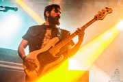 Giuseppe Guflielmino, bajista de Black Rainbows (Santana 27, Bilbao, 2016)
