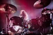 Alex Carapetis, baterista de Wolfmother (Santana 27, Bilbao, 2016)