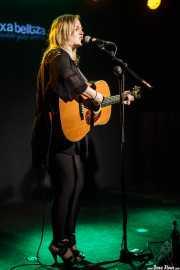 Kami Thompson, cantante y guitarrista de The Rails (Kafe Antzokia, Bilbao, 2016)