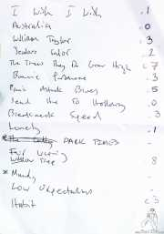 Setlist de The Rails (Kafe Antzokia, Bilbao, 2016)