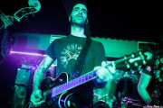 """Iago """"Pezu"""", cantante y guitarrista de Screamers & Sinners (Sala Edaska, Barakaldo, 2016)"""