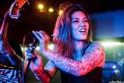 "Kenda ""Twisted"" Legaspi, cantante y guitarrista de The Creepshow (Sala Edaska, Barakaldo, 2016)"