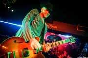 Daniel Flamm, guitarrista de The Creepshow (Sala Edaska, Barakaldo, 2016)