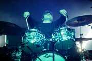 """Enrique """"Bugs"""" Gonzalez, baterista de Los Lobos (Music Legends Fest, Sondika, 2016)"""