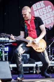 John Turnbull, guitarrista de Bob Geldof (Music Legends Fest, Sondika, 2016)