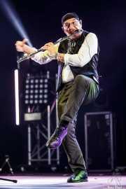 Ian Anderson, cantante, flautista y ukelele de Jethro Tull / Ian Anderson Band (Music Legends Fest, Sondika, 2016)