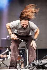 Aimar Antxia, cantante de The Flying Scarecrow (Azkena Rock Festival, Vitoria-Gasteiz, 2016)