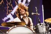Richard Danielson, baterista de Vintage Trouble (Azkena Rock Festival, Vitoria-Gasteiz, 2016)