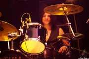"""David """"Hawk"""" Lopez, baterista de Jean Beauvoir (Azkena Rock Festival, Vitoria-Gasteiz, 2016)"""