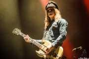 "Nicke Andersson ""Nick Royale"", cantante y guitarrista de The Hellacopters (Azkena Rock Festival, Vitoria-Gasteiz, 2016)"