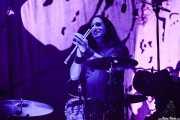 Johnny Kelly, baterista de Danzig (Azkena Rock Festival, Vitoria-Gasteiz, 2016)