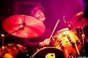 Benji Bohannon, baterista de Luke Winslow-King (Azkena Rock Festival, Vitoria-Gasteiz, 2016)
