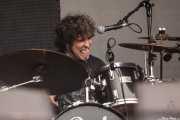 David Marín, baterista de Sumisión City Blues (Azkena Rock Festival, Vitoria-Gasteiz, 2016)