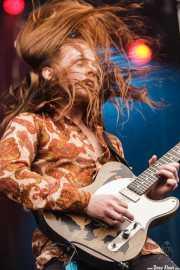 Óskar Logi, guitarrista y cantante de The Vintage Caravan (Azkena Rock Festival, Vitoria-Gasteiz, 2016)
