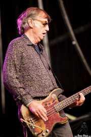 Jim Dickson, bajista de Radio Birdman (Azkena Rock Festival, Vitoria-Gasteiz, 2016)