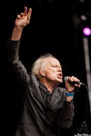 Rob Younger, cantante de Radio Birdman (Azkena Rock Festival, Vitoria-Gasteiz, 2016)