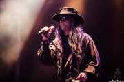 Carl McCoy, cantante de Fields of the Nephilim (Azkena Rock Festival, Vitoria-Gasteiz, 2016)