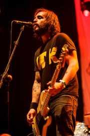 Alejandro Tannen, bajista de Marky Ramone's Blitzkrieg (Azkena Rock Festival, Vitoria-Gasteiz, 2016)