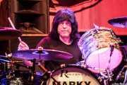 Marky Ramone, baterista de Marky Ramone's Blitzkrieg (Azkena Rock Festival, Vitoria-Gasteiz, 2016)