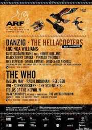 Cartel de Azkena Rock Festival 2016 (Azkena Rock Festival, Vitoria-Gasteiz, )