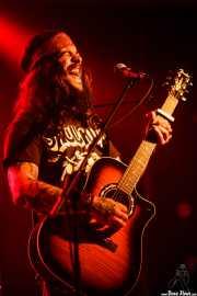 Ian Mason, cantante y guitarrista (Kafe Antzokia, Bilbao, 2016)
