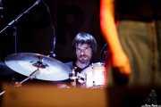 Andoni Etxebeste, baterista de Frank (Sala BBK, Bilbao, 2016)