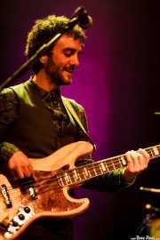 Javier Geras, bajista de Vinila Von Bismark (Bilborock, Bilbao, 2016)