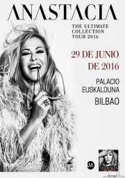 Anastacia, cantante (Palacio Euskaduna Jauregia, Bilbao, )