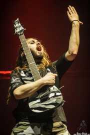 Chris Rörland, guitarrista de Sabaton (, , 2016)