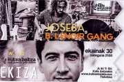 Entrada de Joseba B. Lenoir Gang (Kafe Antzokia, Bilbao, )