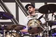 Dylan Bell, baterista de Years & Years (Bilbao BBK Live, Bilbao, 2016)