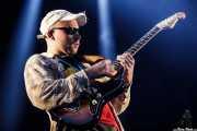 Matt Mason, guitarrista de DMA's (Bilbao BBK Live, Bilbao, 2016)