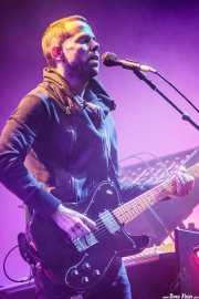 Anthony Gonzalez, cantante y guitarrista de M83 (Bilbao BBK Live, Bilbao, 2016)
