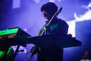 Gillian Gilbert, teclista y guitarrista de New Order (Bilbao BBK Live, Bilbao, 2016)