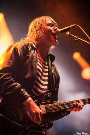 Johannes Leppänen, cantante y guitarrista de French Films (Bilbao BBK Live, Bilbao, 2016)