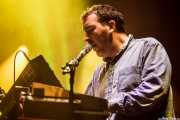 Joe Goddard, teclista de Hot Chip (Bilbao BBK Live, Bilbao, 2016)