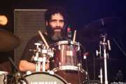 Ricky Lavado, baterista de Nudozurdo (Bilbao BBK Live, Bilbao, 2016)