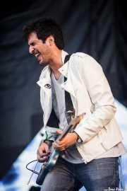 Álvaro Luna, cantante y guitarrista de Yellow Big Machine (Bilbao BBK Live, Bilbao, 2016)