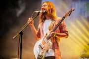 Kevin Parker, cantante y guitarrista de Tame Impala (Bilbao BBK Live, Bilbao, 2016)