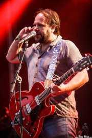 Ricardo Lezón, cantante y guitarrista de McEnroe (Bilbao BBK Live, Bilbao, 2016)