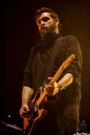 Justin Lockey, guitarrista de Editors (Bilbao BBK Live, Bilbao, 2016)