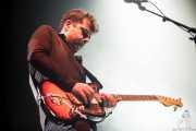 Rodrigo Caamaño, guitarrista de Triángulo de Amor Bizarro (Bilbao BBK Live, Bilbao, 2016)