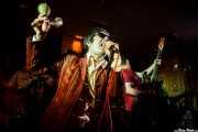 "Marcos Mascato ""Marky"" -voz- y Nacho Hermina -bajo- de The Phantom Keys (Satélite T, Bilbao, 2016)"