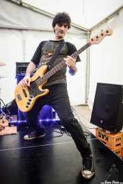 Jero, bajista de Tiparrakers (SaniRock 16, Bilbao, 2016)