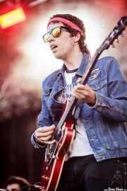Ritxi Blanco, guitarrista de Mocker's (Mundaka Festival, Mundaka, 2016)